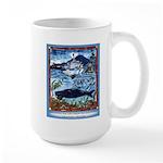 Watching Sea Life Large Mug