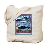Watching Sea Life Tote Bag