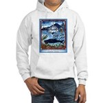 Watching Sea Life Hooded Sweatshirt
