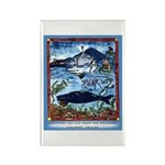 Watching Sea Life Rectangle Magnet (10 pack)