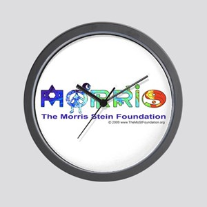 Morris Co-Exist by Elise Wall Clock