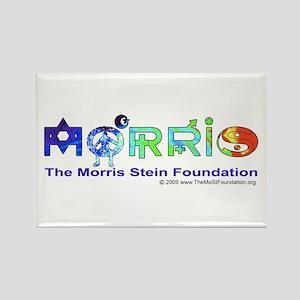 Morris Co-Exist by Elise Rectangle Magnet