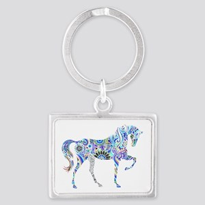 Cool Colorful Horse Keychains
