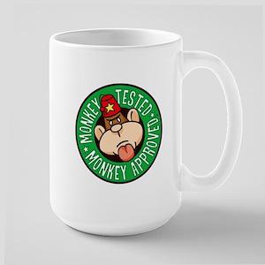 Monkey Tested Monkey Approved Mug