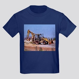 Front-end Loader Kids Dark T-Shirt