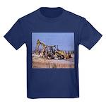 Front-end Loader Kids Dark T-Shirt