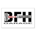 BFH Garage Rectangle Sticker