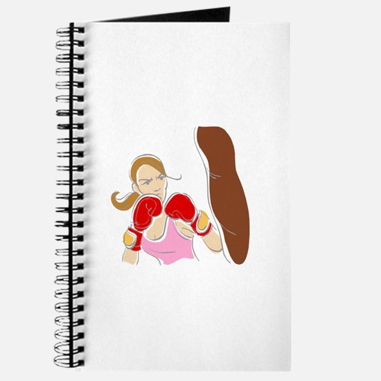 Angry Female Boxer Journal