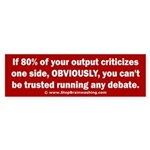 Debate Management Sticker (Bumper)