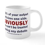 Debate Management 20 oz Ceramic Mega Mug