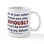 Debate Management 11 oz Ceramic Mug