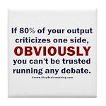 Debate Management Tile Coaster