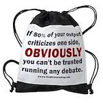 Debate Management Drawstring Bag