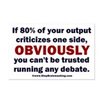 Debate Management Mini Poster Print
