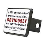 Debate Management Rectangular Hitch Cover