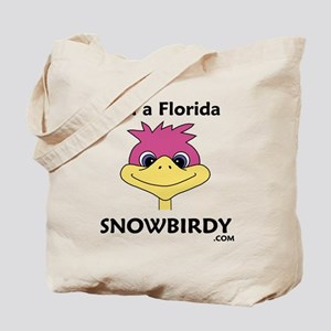 Florida Snowbird Tote Bag