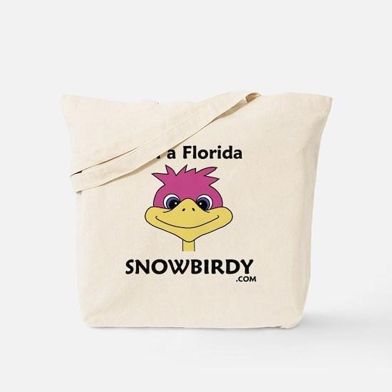 Florida Snowbird Tote Bag