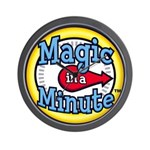 Official Magic in a Minute Wall Clock