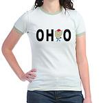 Cute Ohio Jr. Ringer T-Shirt