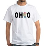 Cute Ohio White T-Shirt