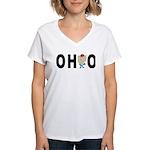 Cute Ohio Women's V-Neck T-Shirt