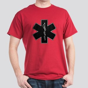 Star of Life(BW) Dark T-Shirt