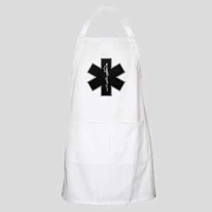 Star of Life(BW) BBQ Apron