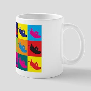 Rafting Pop Art Mug