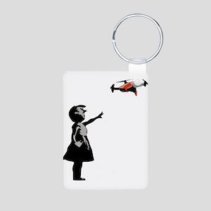 Drone Selfie Dronie Graffiti Keychains