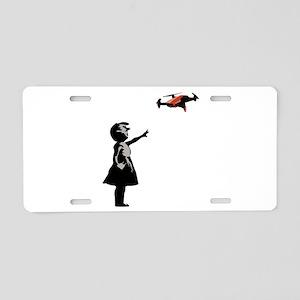 Drone Selfie Dronie Graffit Aluminum License Plate