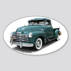 Helaine Old Green PickUp Sticker (Oval)