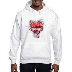 Heart North Dakota Hoodie