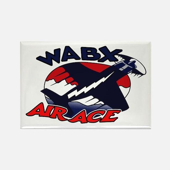 WABX Air Aces Rectangle Magnet
