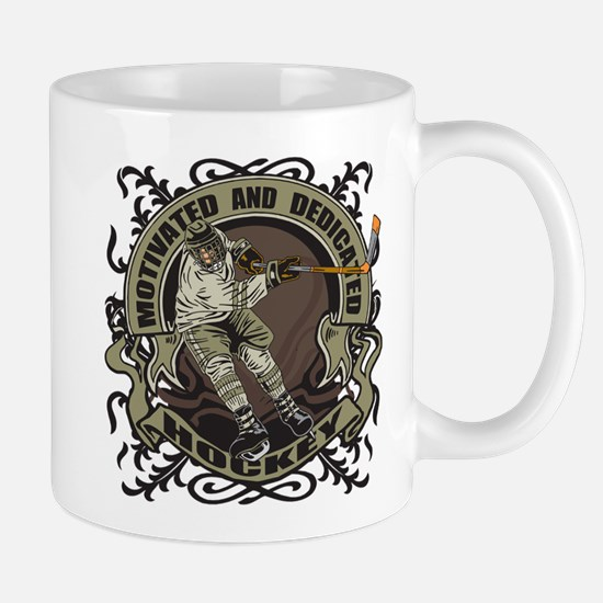Motivated Hockey Player Mug