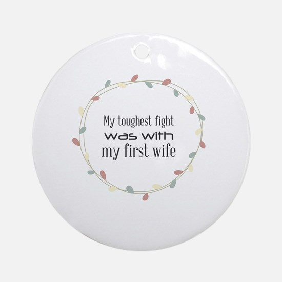 Cute Muhammad Round Ornament