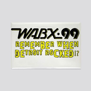 "WABX ""Remember"" Rectangle Magnet"