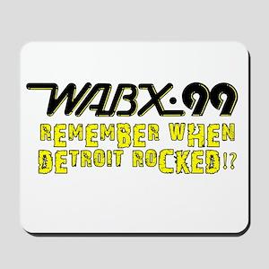 "WABX ""Remember"" Mousepad"