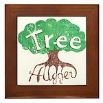 Earth Day : Tree Hugger Framed Tile