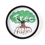 Earth Day : Tree Hugger Wall Clock