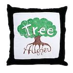 Earth Day : Tree Hugger Throw Pillow