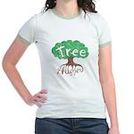 Earth Day : Tree Hugger Jr. Ringer T-Shirt