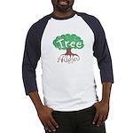 Earth Day : Tree Hugger Baseball Jersey