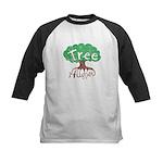 Earth Day : Tree Hugger Kids Baseball Jersey