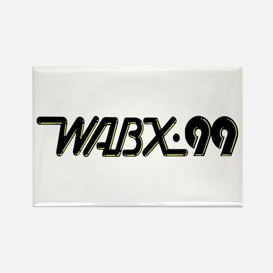 WABX~99 Rectangle Magnet