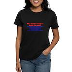 Chicken Oedipus Tran Women's Dark T-Shirt