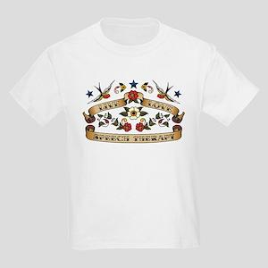 Live Love Speech Therapy Kids Light T-Shirt