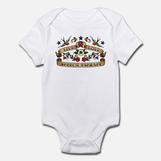 Live Love Speech Therapy Infant Bodysuit