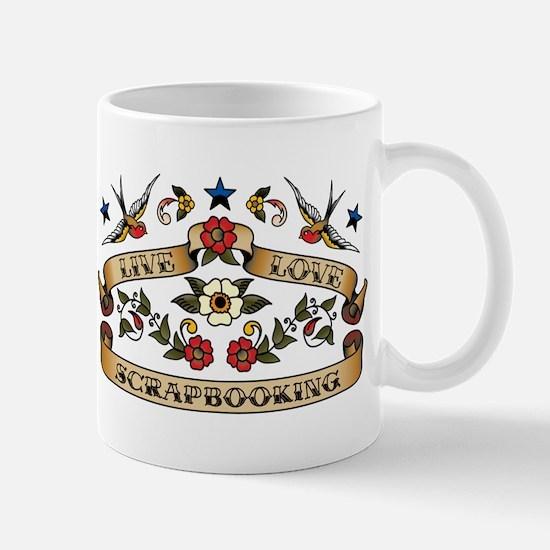 Live Love Scrapbooking Mug