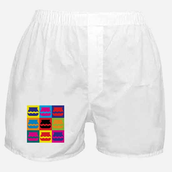 Pottery Pop Art Boxer Shorts