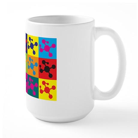 Polymer Chemistry Pop Art Large Mug